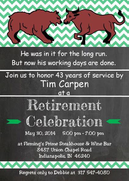 Fullsize Of Retirement Party Invitations