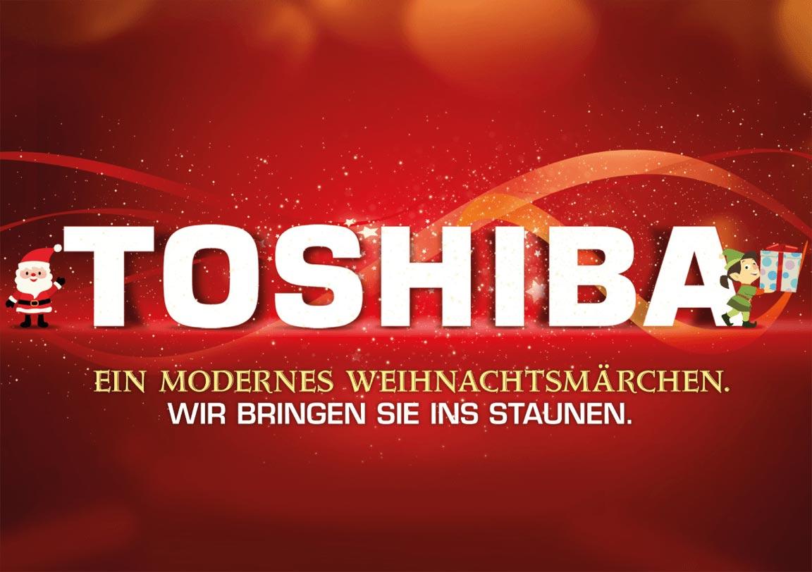 Toshiba Weihnachten Titelseite