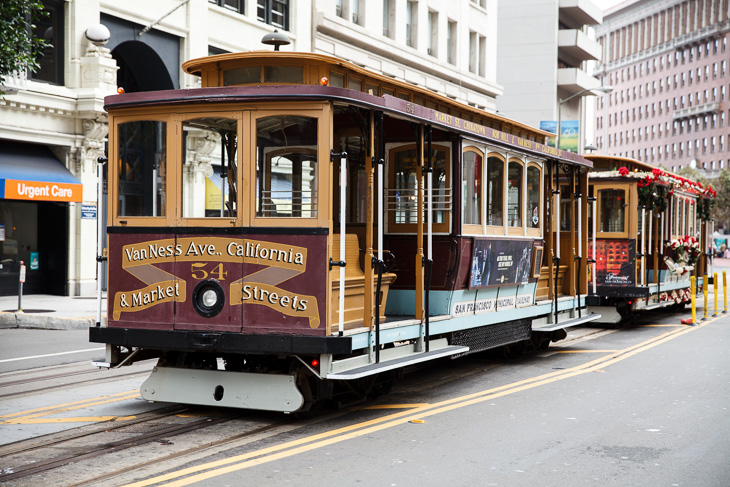 Passagem Gastronômica - Bondinho - Roteiro de São Francisco - Estados Unidos