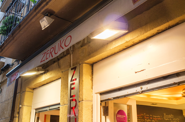 Passagem Gastronômica - Zeruko - Pintxos Bar em San Sebastian