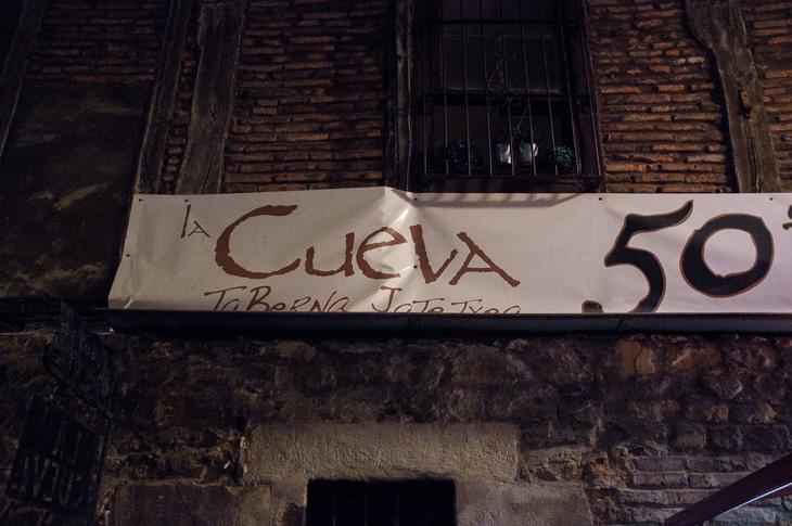 Passagem Gastronômica - La Cueva - Pintxos Bar em San Sebastian