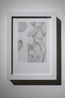 "Tatiana Villani, ""Körperland"" (2015), lapis su carta, 20x27cm Foto di Dania Gennai"