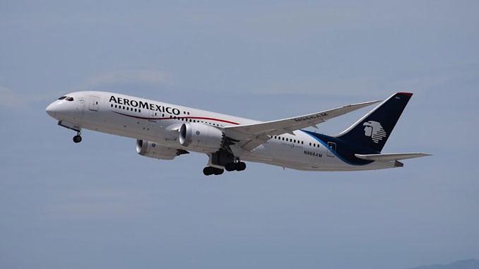 Aeromexico adds live TV to its 787 fleet