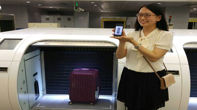 Passengers will be able to use self bag drop when the MRT line between Taipei and Taoyuan Airport opens