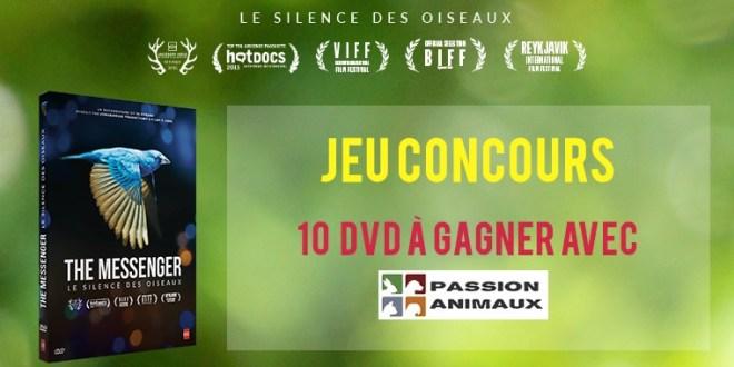 """10 DVD """"Le silence des oiseaux"""" à gagner"""