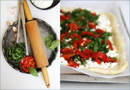Ricotta & Spinach Roulade - Ottolenghi