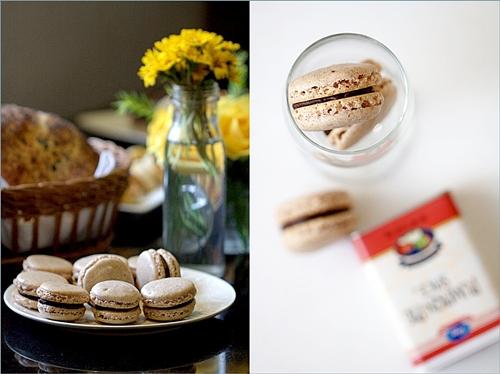 Fall Macarons - Pumpkin Pie Spice