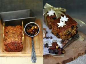 Christmas Fruit Cake {with garam masala}