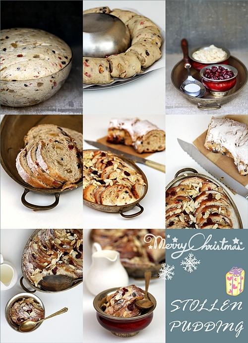 Daring Bakers Christmas Stollen {Pudding}