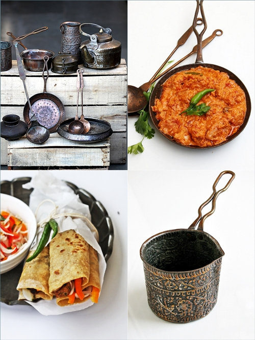 Vintage Indian Pots & Pans
