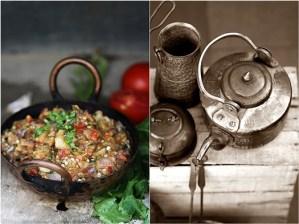 Baingan Ka Bharta Roasted Eggplant Stirfry {Indian veg side dish}