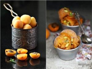 Apricot Peach Sorbet