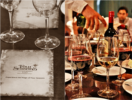 Four Seasons Wine & Food Pairing