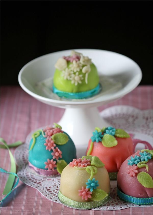 Swedish Prinsesstårta, princess cupcakes