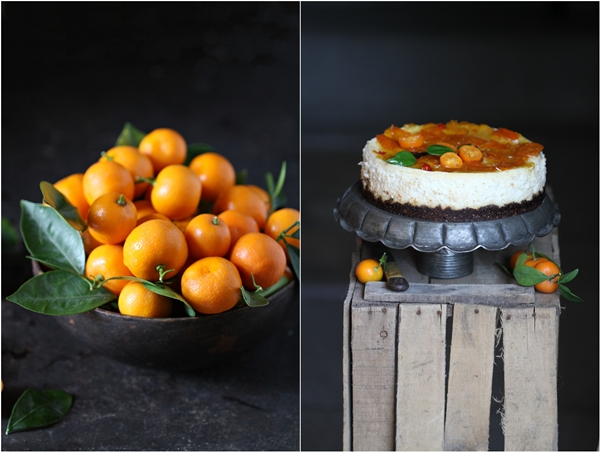 Kumquat Quark Cheesecake