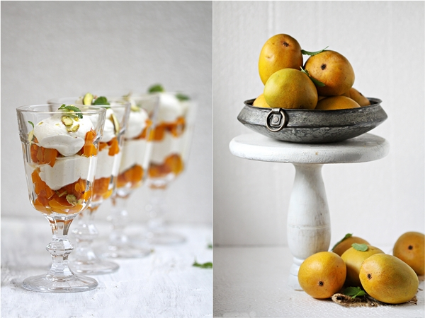 Mango Quark Mousse