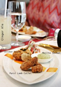 @ the Amaranta Oberoi for a special Parsi lunch 2