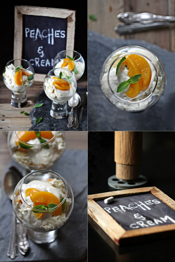 Peaches & Cream Trifles