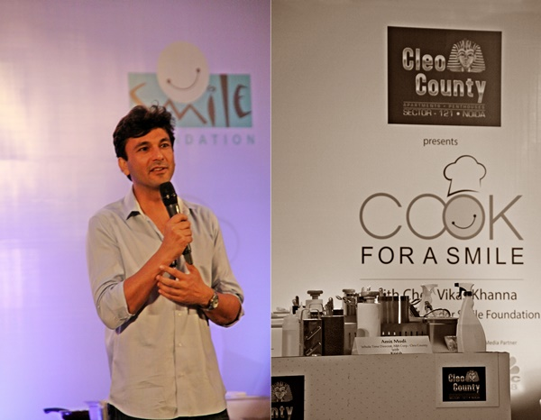 Cook For A Smile with Chef Vikas Khanna