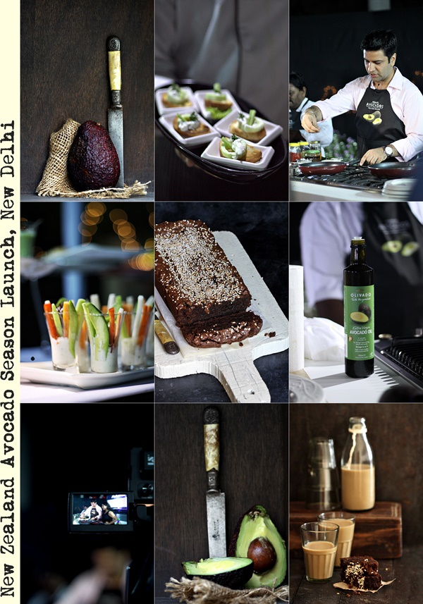 Avocado Dark Chocolate Buckwheat Cake {gluten free} & the New Zealand Avocado Season Launch, New Delhi with Masterchef Kunal Kapoor