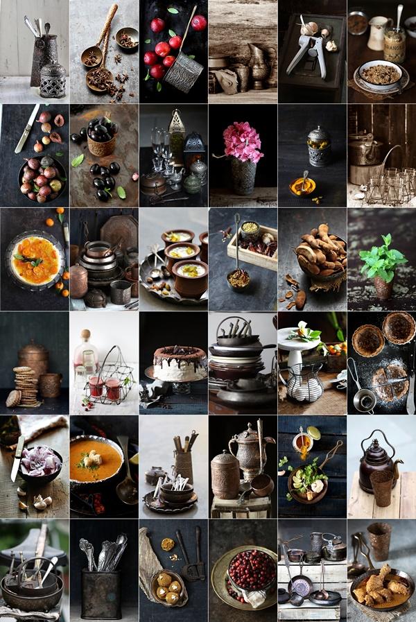 Food photography metal