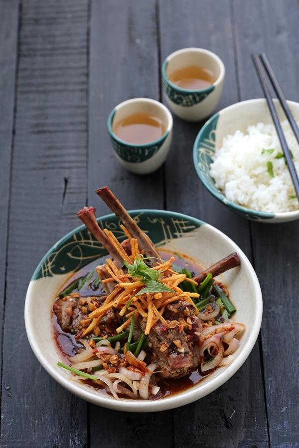 Lamb Chops, TK'S Oriental, Hyatt Regency Delhi