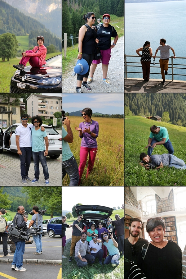 The bunch of us who went to Switzerland #SwissMade #GrandTour #NDTVGoodTimes