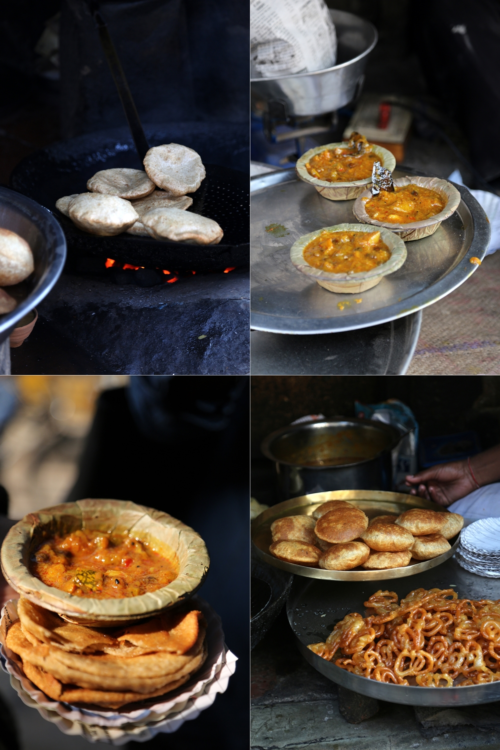 Kachori with Sabzi, Banaras 2016