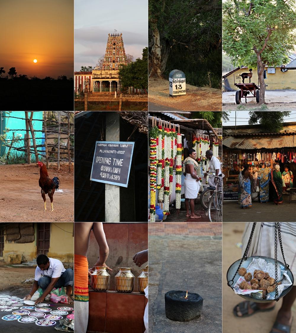 Karpppaga Vinayar Temple, Pillaiyarpatti, Karaikudi, Chettinad, South India