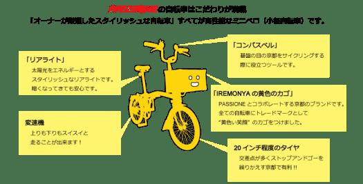 自転車説明
