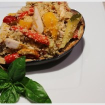 ricetta melanzana ripiena di cous cous