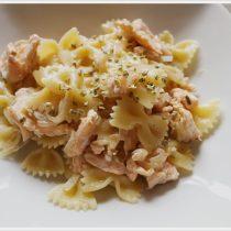 ricetta pasta fredda al salmone fresco