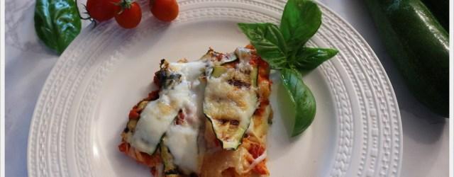 ricetta finta parmigiana di zucchine e carasau