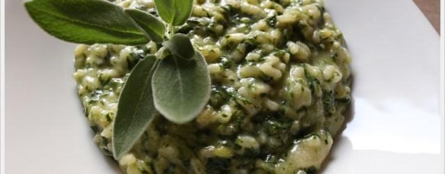 ricetta-risotto-agli-spinaci-pizzoccheri