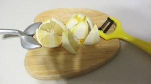 centrifuga di carote e limone
