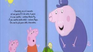 Una pagina di un libro di Peppa Pig