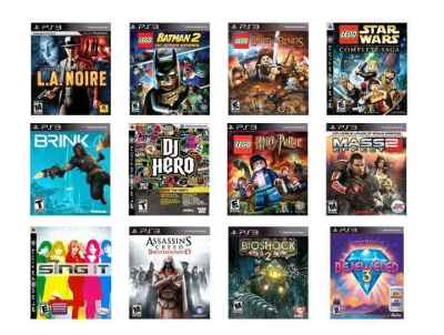 PS3 Games 2/$30 | Over 30 Different Games | Best Price on Black Friday