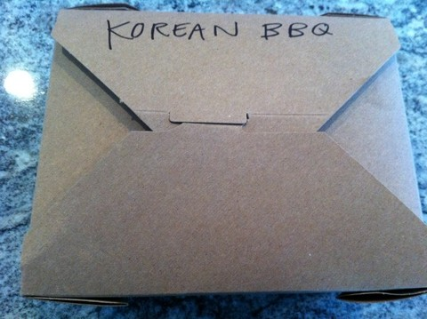 Korean BBQ Box