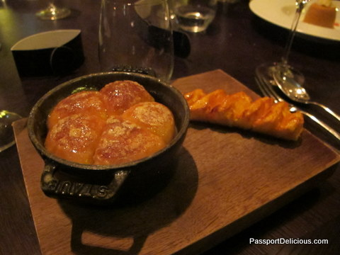 Tipsy Cake at Dinner by Heston Blumenthal