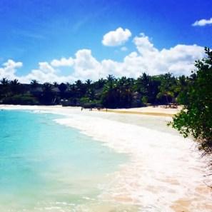 Beach area from La Palapa restaurant