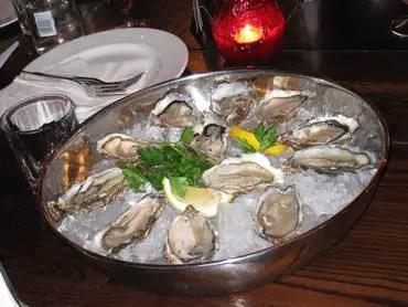Westbridge oysters
