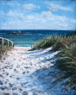 Rayma Reany - Pathway to Pinky's Rottnest
