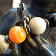 Orange Agate detail