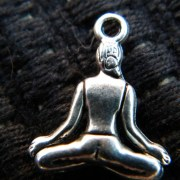 back detail of yogini charm