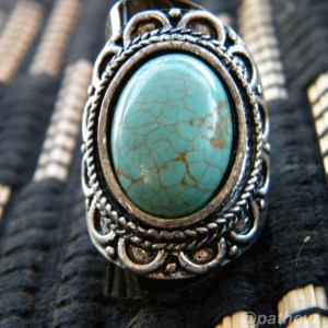 Ornate Blue Ring