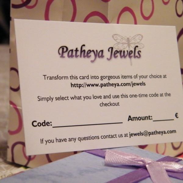 Patheya Jewels' Gift Voucher