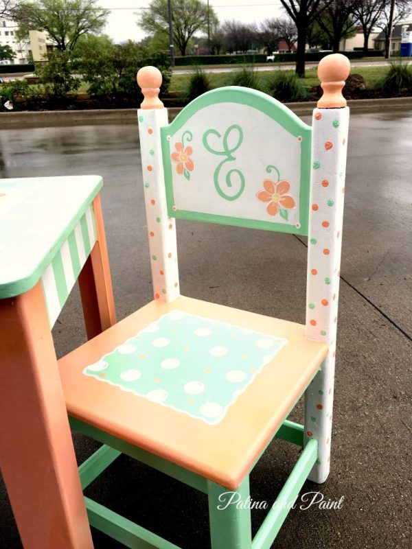 painted children's table 2