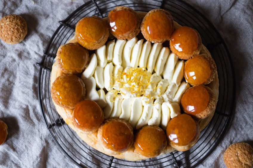 Salted Caramel Saint Honore | Patisserie Makes Perfect
