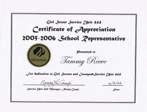 Tammy Reeve | Girl Scouts Appreciation