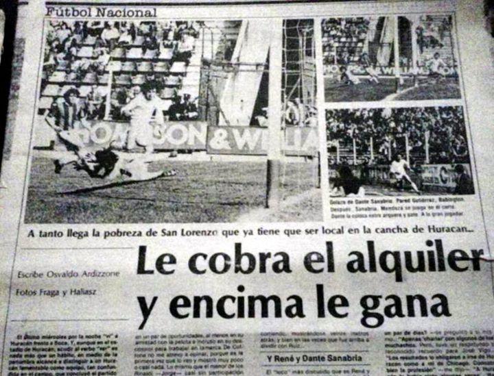 Huracán-San Lorenzo 1980